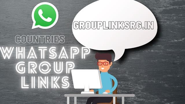 Countries Whatsapp group links