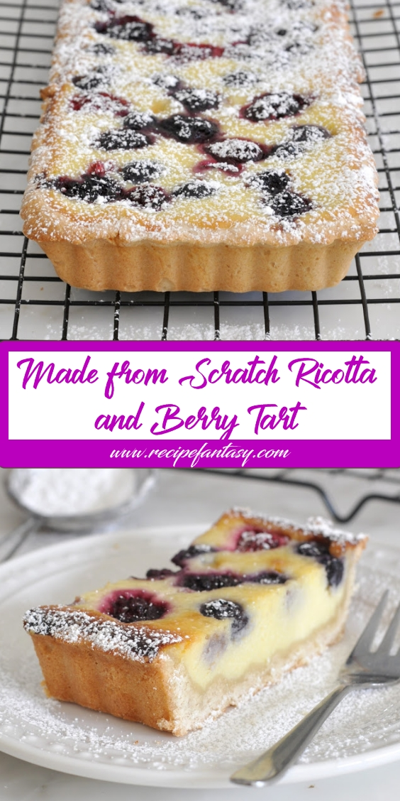 Made-from-Scratch Ricotta and Berry Tart