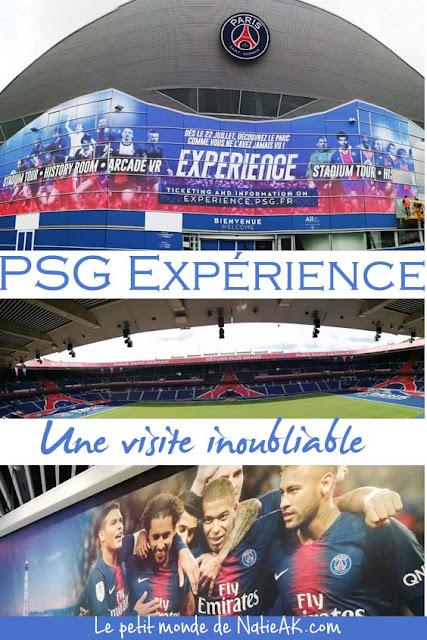 impressions sur PSG expérience Paris