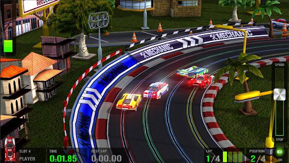 HTR+ Slot Car Simulation ScreenShot 01