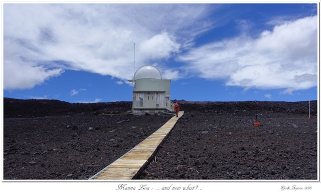 Mauna Loa: ... and now what?...