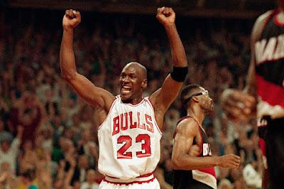 Michael Jordan boxeo