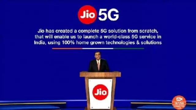 Reliance Jio will be the first to launch 5G service in India: Mukesh Ambani