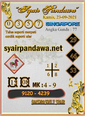 Gambar Syair Pandawa Sgp kamis 23 september 2021