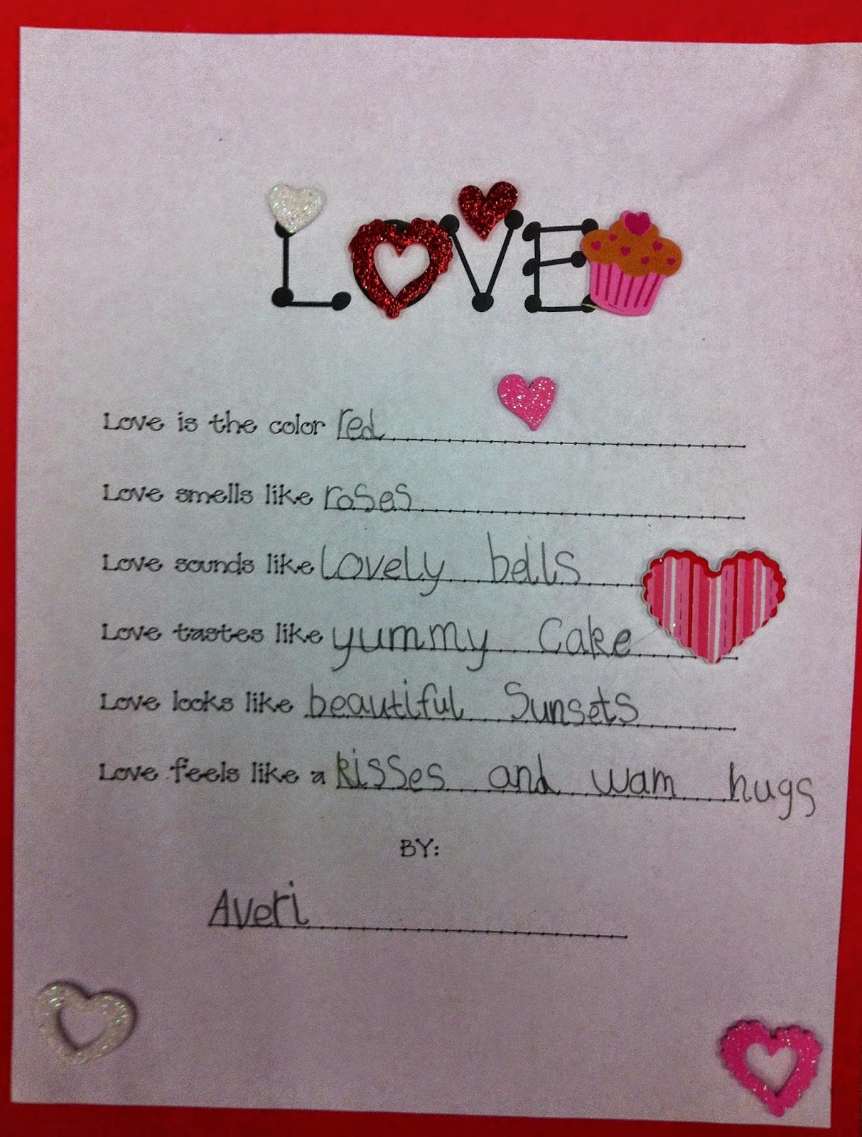 Mrs Huff S Stuff Authors And Artists Writing Club Love