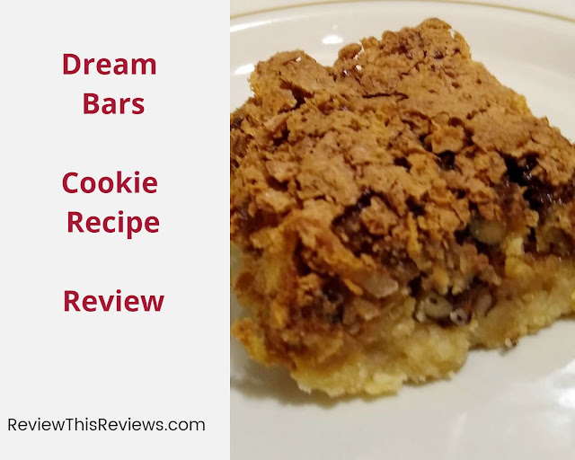 Dream Bars Cookie Recipe