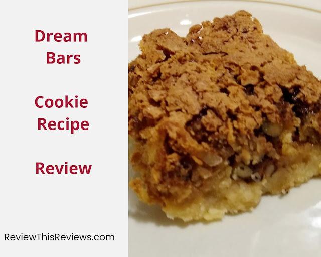 Dream Bars Cookie Recipe