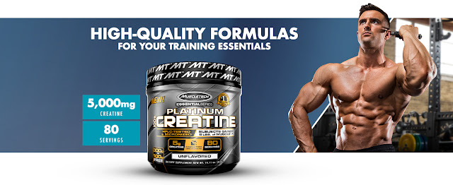 100% Pure Micronized Creatine Powder for Men and Women
