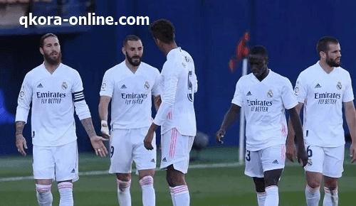 أعلن المدير الفني لفريق ريال مدريد زيدان عن تشكيل الفريق الأساسي لمواجهة ريال سوسيداد اليوم ضمن من