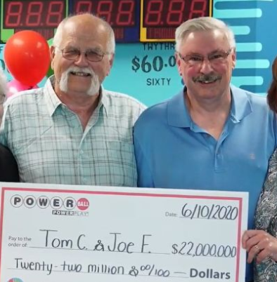 Man Splits $22 Million Lottery Winning With His Best Friend To Uphold A Promise Made Nearly 30 Years Ago (Photos)
