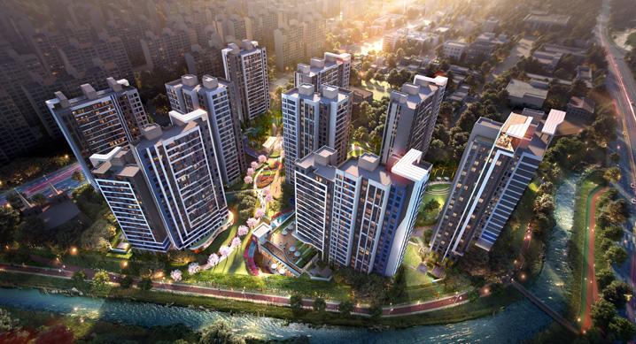 현대건설, 2,280억원 규모 용인 수지 신정마을9단지 리모델링 시공권 획득