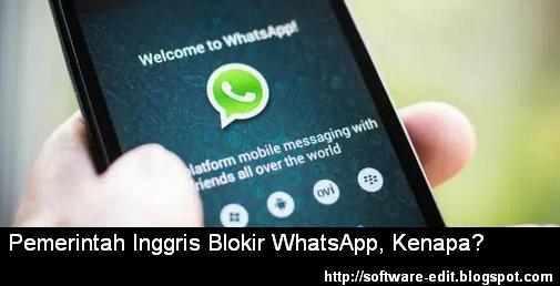 Pemerintah Inggris Blokir WhatsApp, Kenapa?