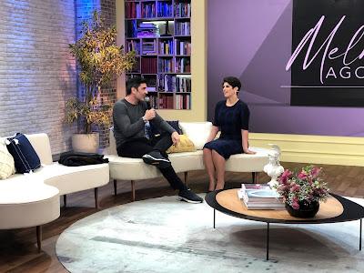 Mariana Godoy entrevista Edu Guedes. Crédito: Isabela Gadelha/Vibra