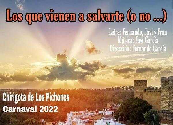 """La Chirigota de Alcalá de Guadaira de Los Pichones se llamaran """"Los que vienen a salvarte (o no...)"""""""