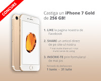 Castiga un iPhone 7 Gold