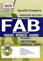 Apostila Concurso Força Aérea Brasileira - CFOAV 2017 Aeronáutica - FAB.