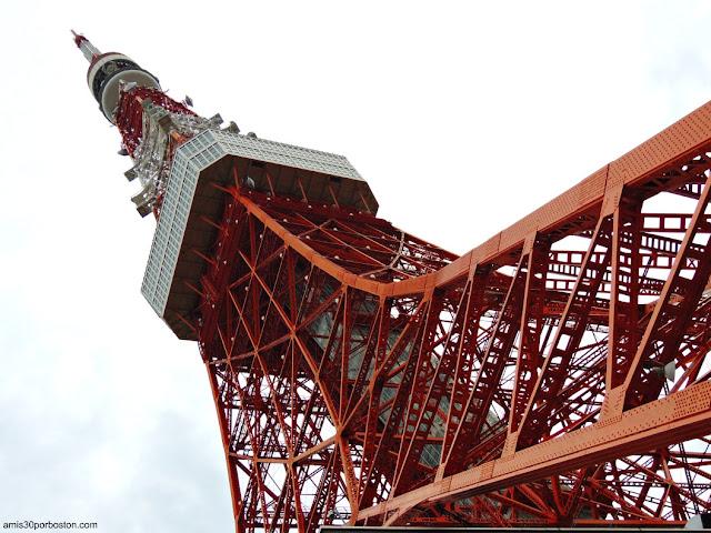 Exterior de la Cubierta Principal de la Torre de Tokio