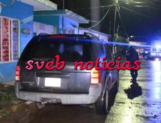 Ejecutan a hombre abordo de su camioneta en Martinez de la Torre veracruz