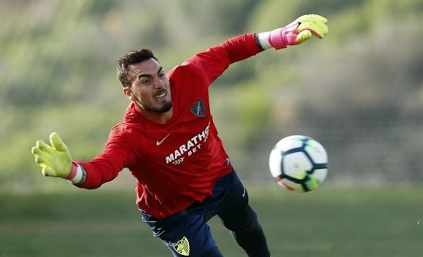Málaga, Roberto podrá jugar ante el Espanyol