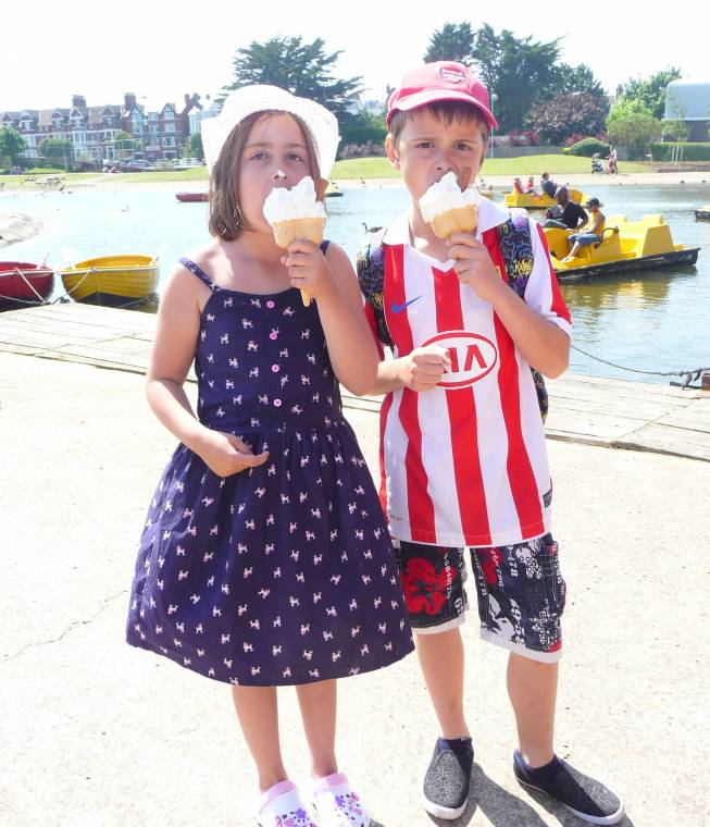 Ice Cream Ice Cream: Wordless Wednesday Blog Hop