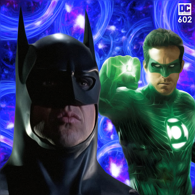 Keaton Batman in, Flashpoint Batman Out   DC on SCREEN Podcast