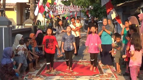 Agustusan Lomba dan Tasyakuran RT.01 Desa Kauman Bojonegoro 2017