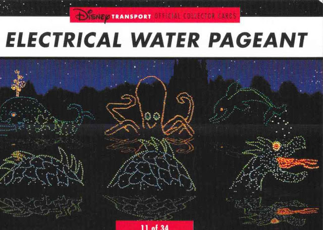 Electrical Water Pagent Disney Transportation Card