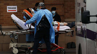 """Nueva York registra récord de muertes por coronavirus en un día. """"El Internacional"""""""
