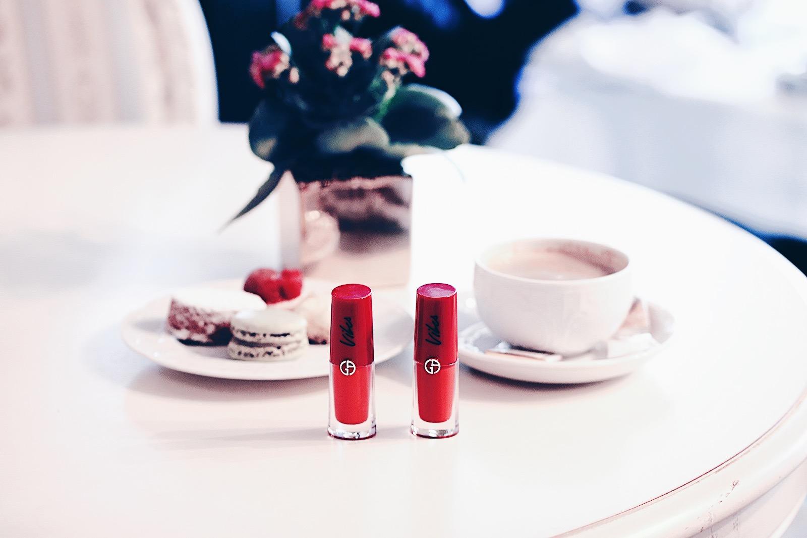 armani lip magnet vibes 304 scarlet 405 vermilion 513 magenta 606 burgundy avis test swatch swatches
