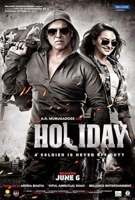 Download Holiday (2014) Hindi Full Movie 480p [400MB] | 720p [1GB] HDRip