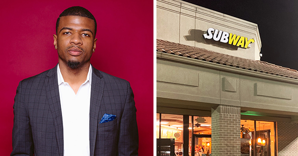 Chris Williams II, youngest owner of Subway franchise