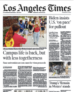 Read Online Los Angeles Times Magazine 24 August 2021 Hear And More Los Angeles Times News And Los Angeles Times Magazine Pdf Download On Website.