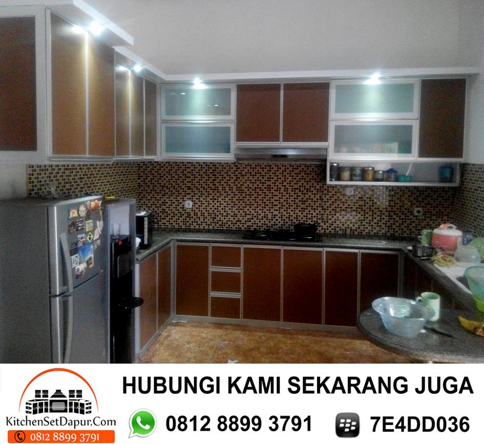 Jual Kitchen Set Aluminium Cilodong Depok 0812 8899 3791 0812 8899