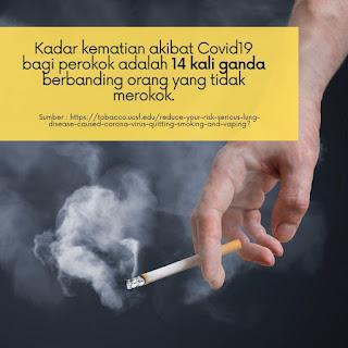 Perokok dan Pengguna Vape Lebih Berisiko Dijangkiti Covid-19