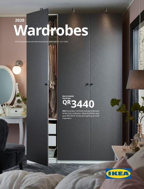 IKEA Wardrobes Brochure 2020 qatar