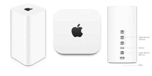Apple AirPort Time Capsule Warning