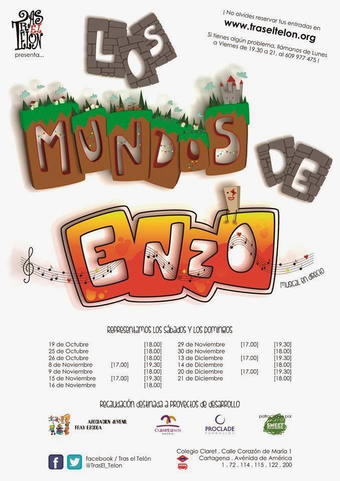 Los Mundos de Enzo. [TEATRO Musical y familiar]
