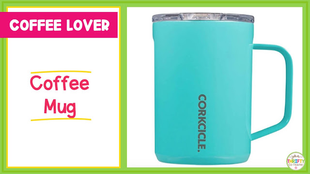 Looking for teacher gift ideas for Christmas? A coffee mug might be the answer.