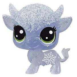 Littlest Pet Shop Series 5 Frosted Wonderland Tube Cow (#No#) Pet