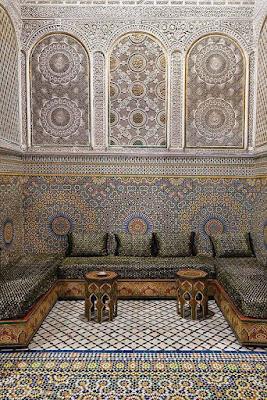 الزليج  المغربي الفاسي  ثرات و صناعة إبداعية مغربية