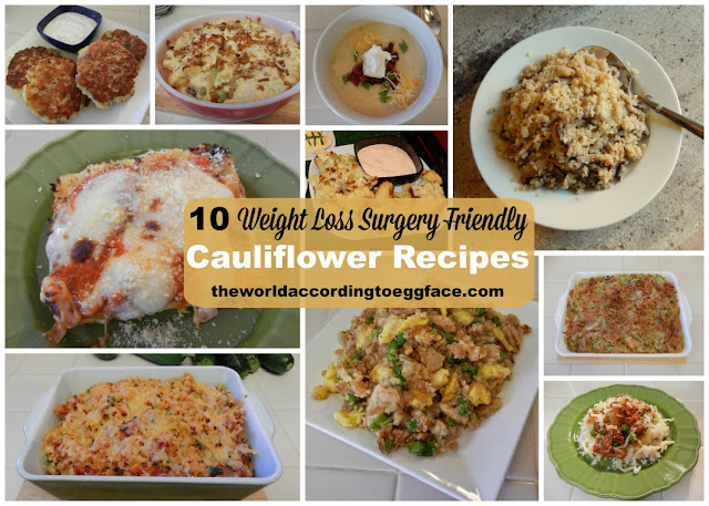 10%2BWeight%2BLoss%2BSurgery%2BFriendly%2BCauliflower%2BRecipes%2BEggface Weight Loss Recipes Baked Cauli Tots (aka Cauliflower Croquette) Recipe