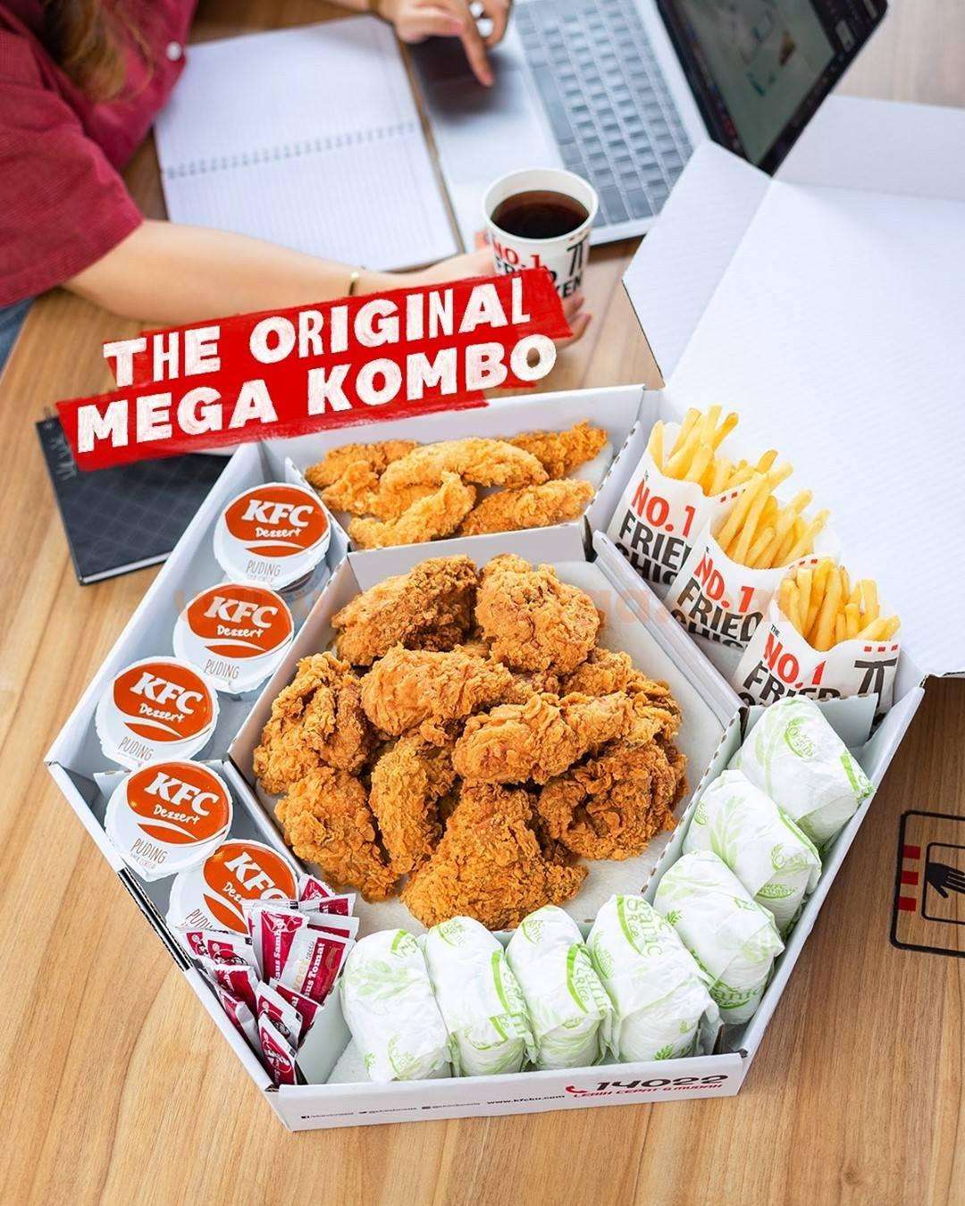 KFC MEGA COMBO - Paket MEGA KOMBO Harga hanya Rp 240.000 Aja