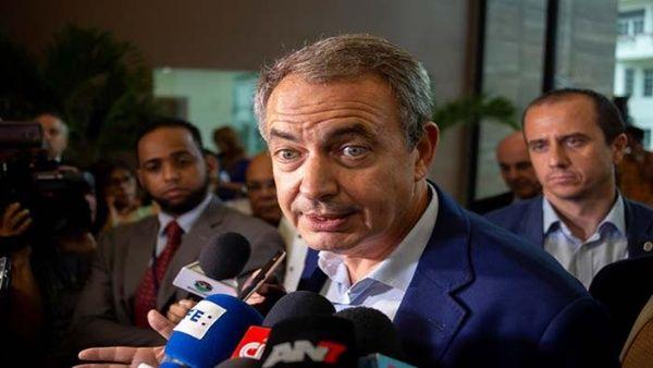 Gobierno español pide respeto para Rodríguez Zapatero tras críticas de Almagro