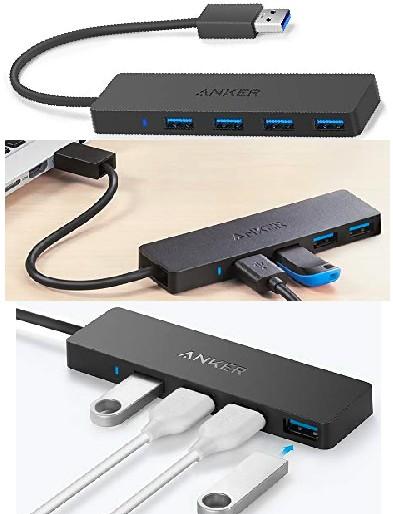Anker USB 3.0 Multi-Port Data Transfer Hub