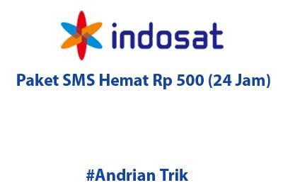 Paket SMS Hemat Indosat Hanya Rp 500 (24 Jam)