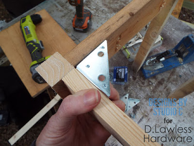 How to Install Inside Corner Braces - D. Lawless Hardware