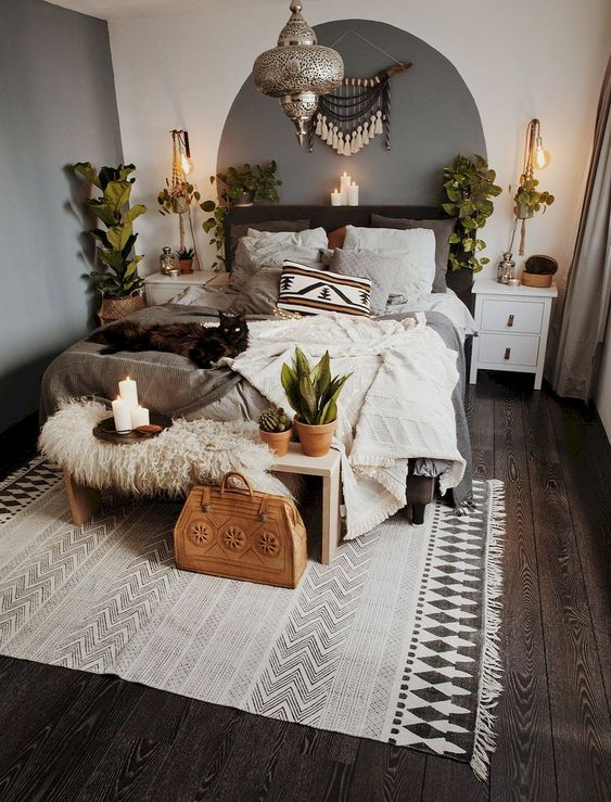 Channelize The Bohemian Decor In The Bedroom