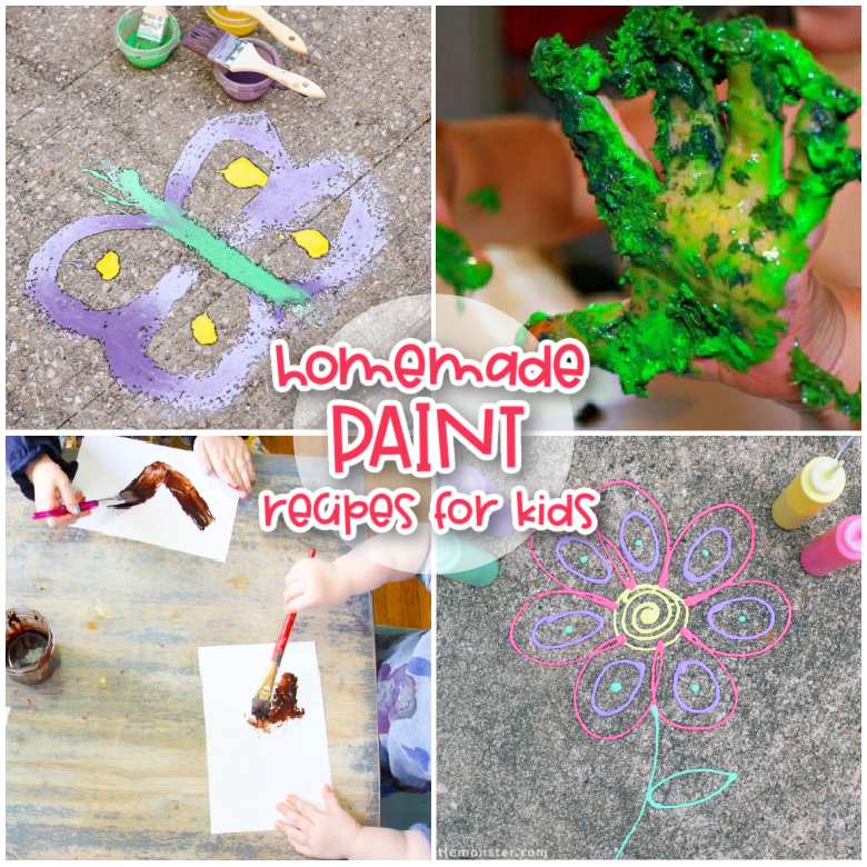 Homemade paint recipes for kids
