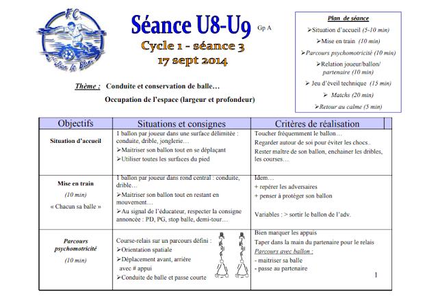 séance U8 -U9