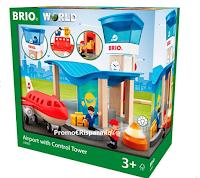Con Pampers puoi vincere un Set gioco Aeroporto con torre di controllo BRIO
